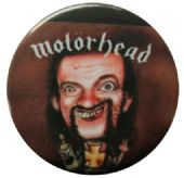 Motorhead - 'Lemmy Cartoon' Button Badge
